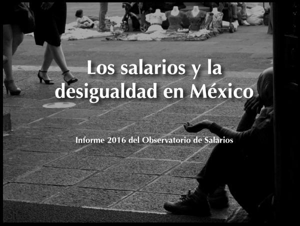 INFORME 2016 OBSERVATORIO DE SALARIOS