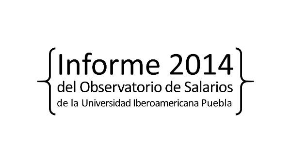 Informe Del observatorio de Salarios